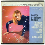 ACS-147 - Barber — Medea's Meditation And Dance Of Vengeance ~ Boston Symphony Orchestra • Munch