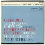 ACS-49 - Offenbach — Tales Of Hoffman (Excerpts) • Orpheus In Hades Overture ~ Boston Pops Orchestra, Fiedler