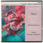 "ACS-99 - Weber — Invitation To The Dance • R. Strauss — Waltzes From ""Der Rosenkavalier"" ~ Chicago Symphony Orchestra, Reiner"
