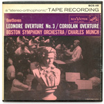 BCS-48 - Grieg — Beethoven — Leonore Overture No. 3 • Coriolan Overture ~ Boston Symphony Orchestra, Munch