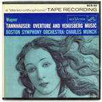 BCS-55 - Wagner — Tannhauser: Overture And Venusberg Music ~ Boston Symphony Orchestra, Munch