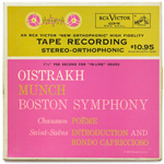 CCS-16 - Chausson — Poeme Op. 25 • Saint-Saens — Introduction And Rondo Capriccioso ~ Oistrakh • Munch • Boston Symphony