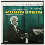 CCS-20 - Rachmaninoff — Rhapsody On A Theme Of Paganini, Op. 43 ~ Rubinstein • Reiner • Chicago