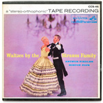 CCS-46 - Waltzes By The Strauss Family ~ Boston Pops Orchestra, Fiedler