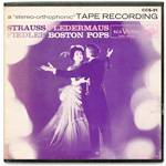 CCS-91 - J. Strauss, Jr. — Fledermaus (Selections) ~ Boston Pops Orchestra, Fiedler