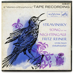 CCS-97 - Stravinsky — Song Of The Nightingale ~ Chicago Symphony Orchestra, Reiner