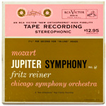 DCS-10 - Mozart — Symphony No. 41, In C, K. 551 ~ Chicago Symphony • Reiner