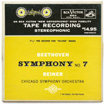 ECS-11 - Beethoven — Symphony No. 7 • Fidelio Overture ~ Chicago Symphony Orchestra, Reiner