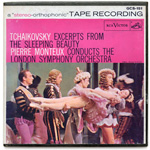 GCS-151 - Tchaikovsky — Excerpts From The Sleeping Beauty ~ Monteux • London Symphony