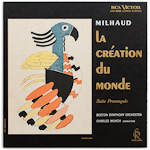 LDS-2625 - Milhaud — La Creation Du Monde • Suite Provencale ~ Munch • Boston Symphony