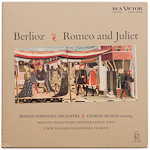 LDS-6098 - Berlioz — Romeo And Juliet ~ Munch