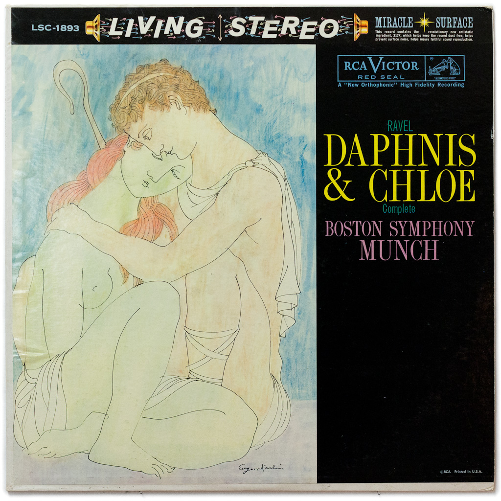 daphnis chloe Classical notes - classical classics - ravel: daphnis et chloe, by peter gutmann classical record reviews and commentary by a passionate fan.