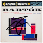 LSC-1934 - Bartok — Concerto For Orchestra ~ Chicago Symphony Orchestra, Reiner