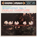 LSC-1991 - Beethoven — Symphony No. 7 • Fidelio Overture ~ Chicago Symphony Orchestra, Reiner