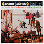 LSC-2084 - Rossini-Respighi — La Boutique Fantastique • Ibert — Divertissement ~ Boston Pops, Fiedler