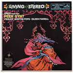 LSC-2125 - Grieg — Peer Gynt Suites • Lyric Suite ~ Boston Pops Orchestra, Fiedler • Farrell