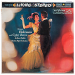 LSC-2130 - J. Strauss, Jr. — Fledermaus • Gypsy Baron (Selections) ~ Boston Pops Orchestra, Fiedler