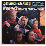 LSC-2139 - Christmas Hymns And Carols, Vol. 1 ~ Robert Shaw Chorale