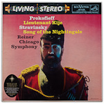 LSC-2150 - Prokofieff — Lieutenant Kije • Stravinsky — Song Of The Nightingale ~ Chicago Symphony, Reiner