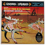 LSC-2195 - Copland — Billy The Kid • Rodeo ~ Morton Gould And His Orchestra