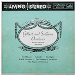 LSC-2302 - Gilbert And Sullivan Overtures ~ Symphony Orchestra Conducted By Alan Ward