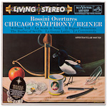 LSC-2318 - Rossini Overtures ~ Chicago Symphony Orchestra, Reiner