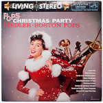 LSC-2329 - Pops Christmas Party ~ Boston Pops Orchestra • Fiedler