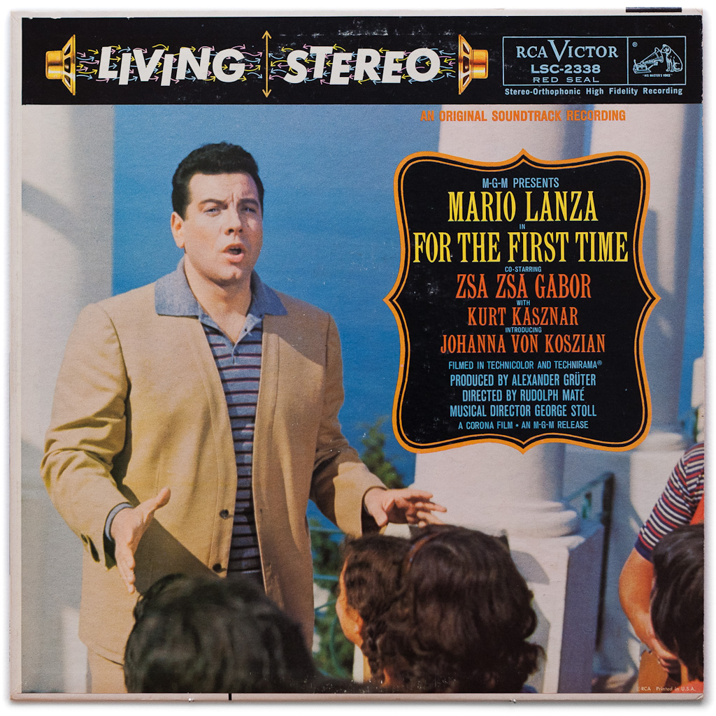 LSC-2338 – For The First Time ~ Mario Lanza — Shaded Dog