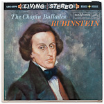 LSC-2370 - The Chopin Ballades ~ Rubinstein