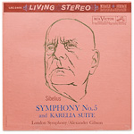 LSC-2405 - Sibelius — Symphony No. 5 • Karelia Suite ~ London Symphony Orchestra, Gibson