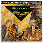 LSC-2420 - Brahms — Trio In E-Flat • Beethoven — Sonata For Horn And Piano ~ Eger • Babin • Szeryng