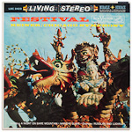 LSC-2423 - Festival ~ Chicago Symphony Orchestra, Reiner