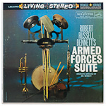 LSC-2445 - Bennett — Armed Forces Suite ~ RCA Victor Symphony Orchestra And Symphonic Band, Bennett