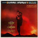 "LSC-2449 - ""Faust"" Ballet Music • ""Carmen"" Suite ~ Royal Opera House Orchestra, Covent Garden • Gibson"