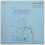 LSC-2461 - Mozart — Concerto No. 24, K. 491 • Rondo, K. 511 ~ Rubinstein • Orchestra Conducted By Josef Krips
