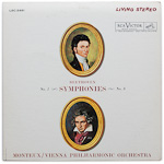 LSC-2491 - Beethoven — Symphonies Nos. 1 and 8 ~ Monteux • Vienna Philharmonic Orchestra