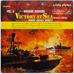 LSC-2523 - Rodgers — Victory At Sea, Vol. 3 ~ Bennett • Victory At Sea Orchestra