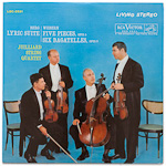 LSC-2531 - Berg — Lyric Suite • Webern — Five Pieces, Op. 5 / Six Bagatelles, Op. 9 ~ Juilliard String Quartet