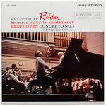 LSC-2544 - Beethoven — Concerto No. 1 • Sonata Op. 54 ~ Richter • Munch • Boston Symphony