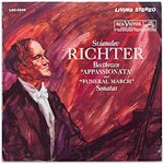 "LSC-2545 - Beethoven — ""Appassionata"" and ""Funeral March"" Sonatas ~ Richter"