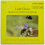 LSC-2547 - Light Classics ~ Boston Pops • Fiedler