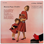 LSC-2549 - Family Fun With Familiar Music ~ Boston Pops • Fiedler