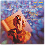 LSC-2550 - Beethoven — Serenade, Op. 8 • Kodaly — Duo For Violin And Cello ~ Heifetz • Primrose • Piatigorsky