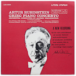 LSC-2566 - Grieg Piano Concerto And Favorite Encores ~ Artur Rubinstein