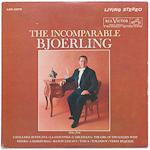 LSC-2570 - The Incomparable Bjoerling ~ Jussi Bjoerling