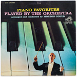 LSC-2579 - Piano Favorites Played By The Orchestra ~ Morton Gould