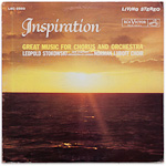 LSC-2593 - Inspiration ~ Stokowski • The New Symphony Orchestra Of London • Luboff Choir