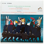 LSC-2596 - Saint-Saens — Carnival Of The Animals • Britten — The Young Person's Guide To The Orchestra ~ Boston Pops • Fiedler