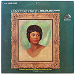 LSC-2600 - Leontyne Price ~ Swing Low, Sweet Chariot - Fourteen Spirituals