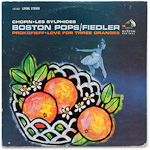 LSC-2621 - Chopin — Les Sylphides • Prokofieff — Love For Three Oranges ~ Boston Pops • Fiedler